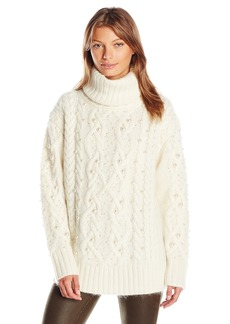 Rachel Zoe Women's Polly Tnk Chunky Knit Sweater