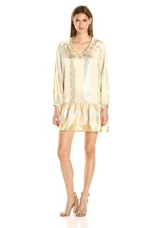 Rachel Zoe Women's Roe Metallic Dress