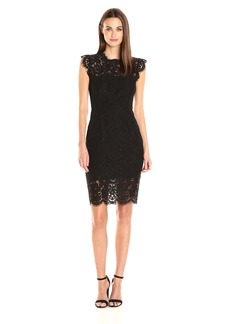 Rachel Zoe Women's Suzette Midi Dress black