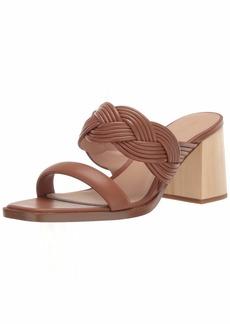 Rachel Zoe Women's Tara Peep Toe Mule Heeled Sandal   M US
