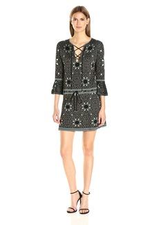 Rachel Zoe Women's Tenley Jacquard Dress  M