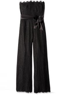 Rachel Zoe Women's Tinley Lace Strapless Jumpsuit