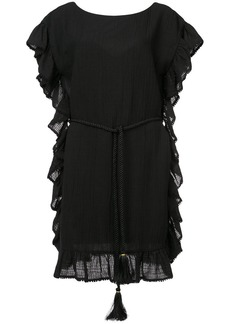 Rachel Zoe ruffle trim dress