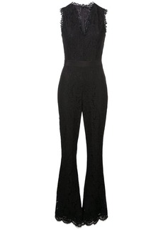Rachel Zoe sleeveless lace jumpsuit