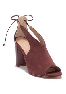 Rachel Zoe Stephanie Peep Toe Suede Sandal