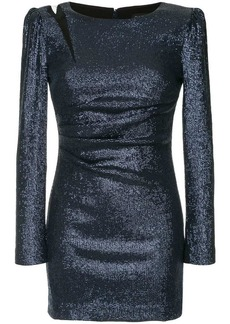 Rachel Zoe structured shoulders mini dress
