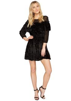 Rachel Zoe Velvet Burnout Pire Dress