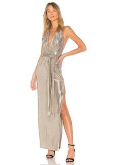 Rachel Zoe X REVOLVE Metallic Halter Gown