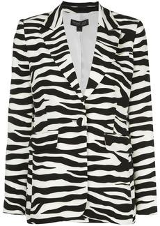 Rachel Zoe zebra-print blazer