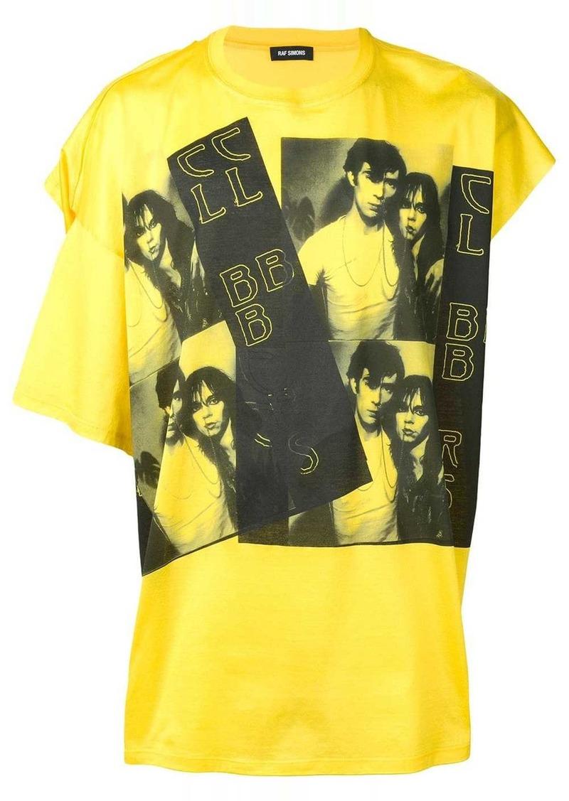 Raf Simons asymmetric sleeve T-shirt