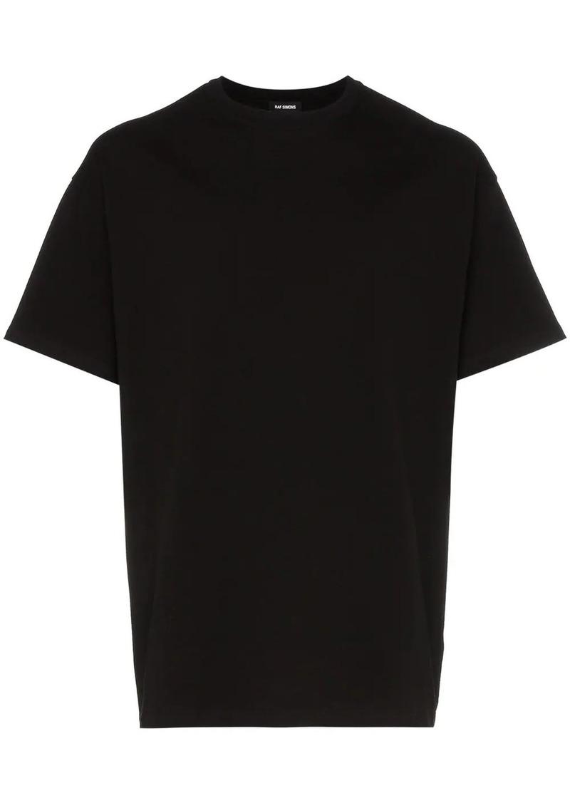 Raf Simons rear graphic print cotton T-shirt