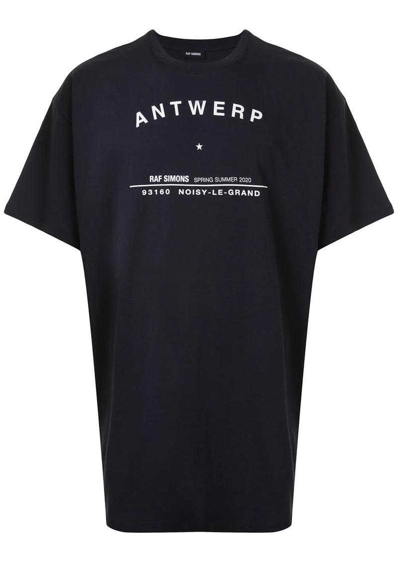Raf Simons Antwerp print T-shirt