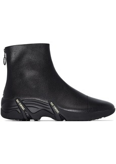 Raf Simons Cyclon leather high-top sneakers