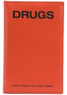 Raf Simons Drugs print wallet