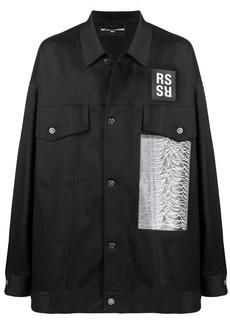 Raf Simons Joy Division oversized shirt jacket