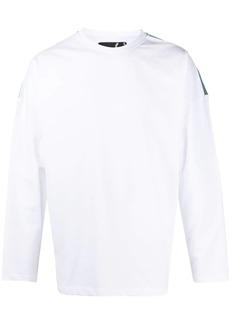 Raf Simons logo long-sleeve sweatshirt