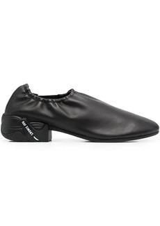 Raf Simons logo-print round-toe loafers
