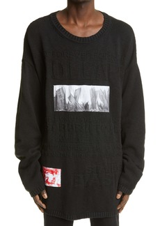 Raf Simons Archive Redux SS '02 Oversize Cotton Sweater