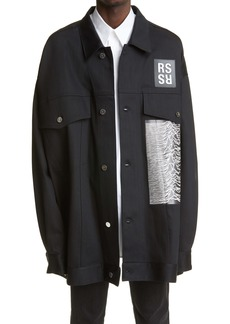 Raf Simons Archive Redux SS '18 Oversize Jacket