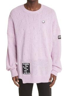 Raf Simons Oversize Virgin Wool Sweater