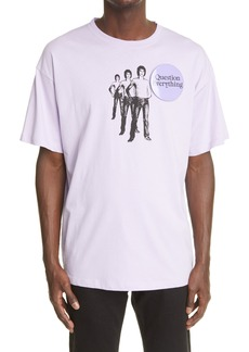 Raf Simons Question Everything Oversize Graphic Tee