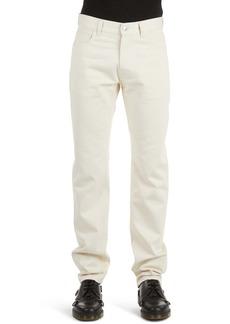 Raf Simons Slim Fit Jeans (Ecru)