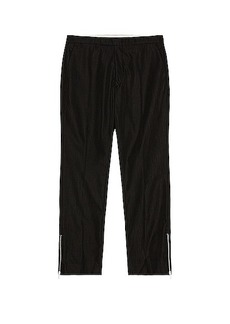 Raf Simons Slim Fit Pants With Ankle Zips