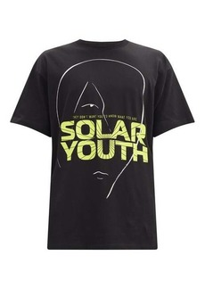 Raf Simons Solar Youth-print cotton-jersey T-shirt