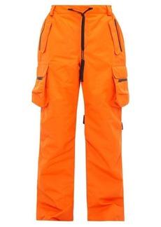 Raf Simons X Templa Logo-strap technical ski trousers