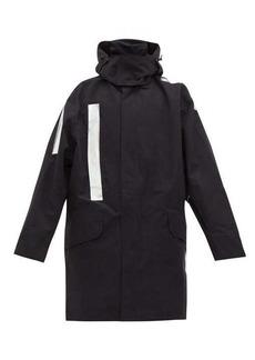 Raf Simons X Templa Oversized reflective-tape ski jacket