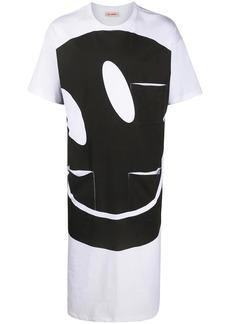 Raf Simons Smiley print long T-shirt