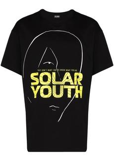 Raf Simons Solar Youth logo T-shirt