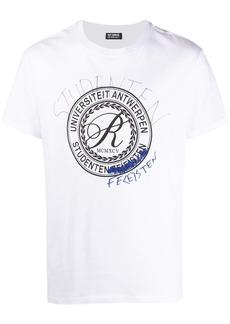 Raf Simons student-print T-shirt