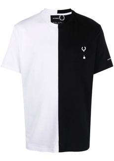Raf Simons two-tone logo T-shirt
