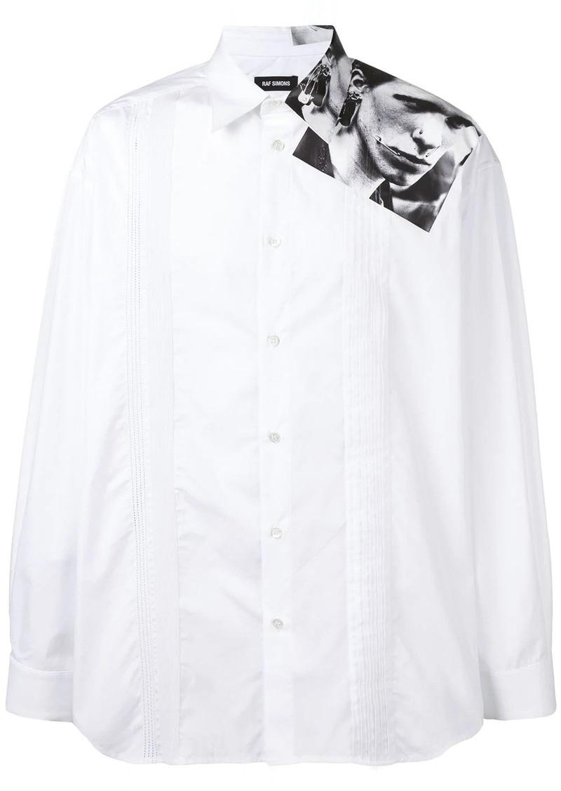 Raf Simons X Robert Mapplethorpe photo print shirt