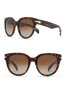 rag & bone 54mm Rounded Sunglasses
