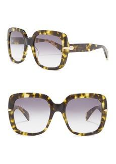 rag & bone 56mm Oversized Square Sunglasses