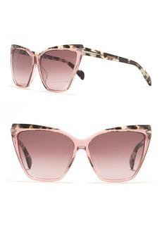 rag & bone 59mm Cat Eye Sunglasses