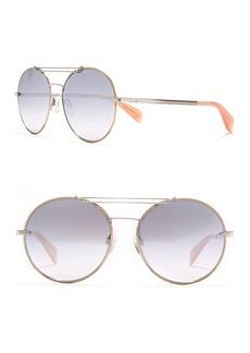 rag & bone 59mm Round Sunglasses