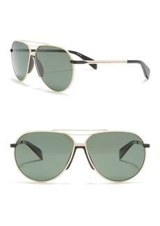 rag & bone 61mm Aviator Sunglasses