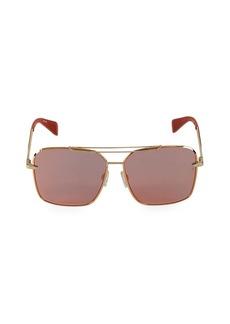rag & bone 61MM Square Sunglasses