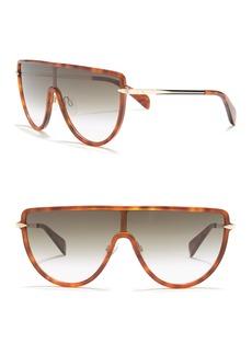 rag & bone 99mm Shield Sunglasses