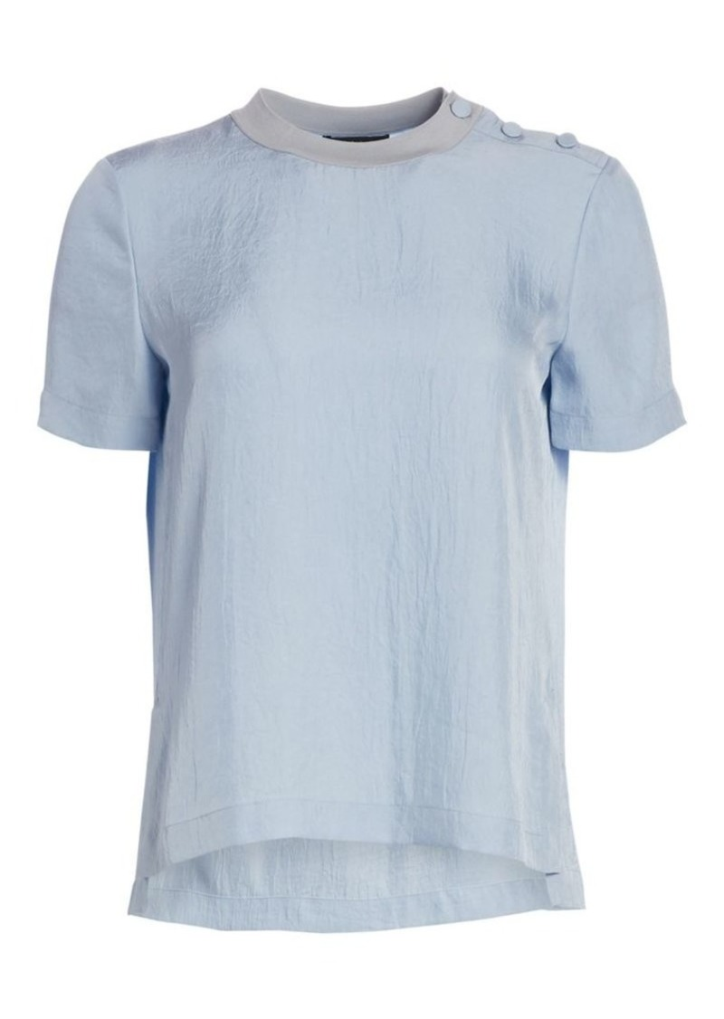 rag & bone Aiden Button Tee