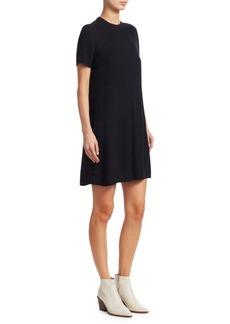 Rag & Bone Aiden Buttoned Flare T-Shirt Dress