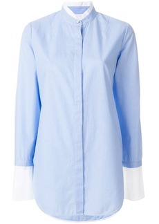 Rag & Bone Allie pinstripe contrast trimmed shirt