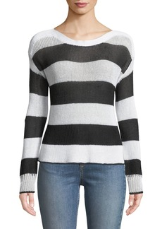 Rag & Bone Allie Striped Boat-Neck Sweater