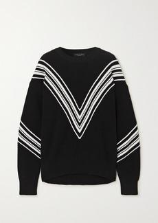 rag & bone Alps Striped Cotton Sweater