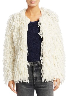 rag & bone Amber Shaggy Sweater Coat
