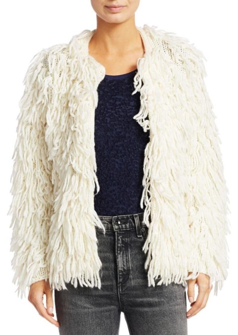 rag & bone Amber Shaggy Sweater Coat