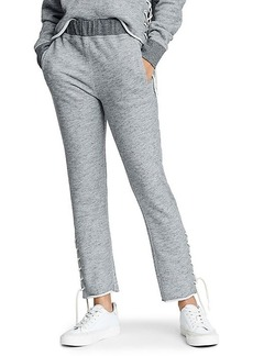 rag & bone Amelia Lace-Up Sweatpants